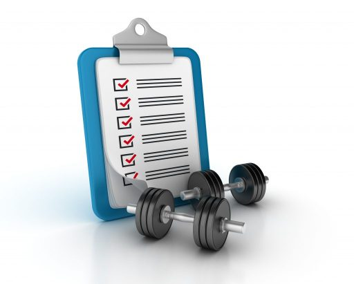 rendering-illustration-clipboard-with-checklist-dumbbell